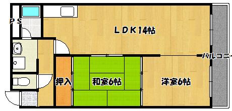 【ワールドライフ84】間取図面
