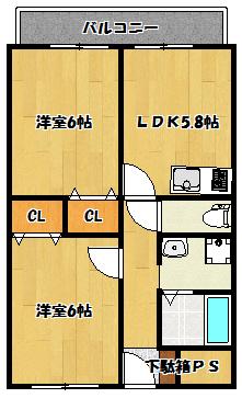 【リーフスタイル門真】間取図面
