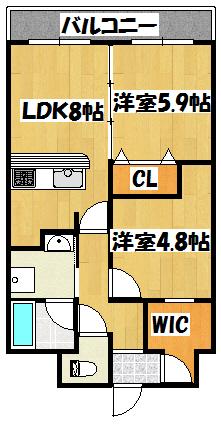【ル・ポワール古川橋】間取図面