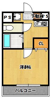 【ジャルディーノ21】間取図面