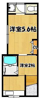 【石原町文化1階】間取図面