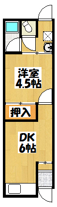 【大日町井本平屋】間取図面