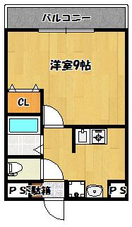 【ネクスプロス大和田】間取図面
