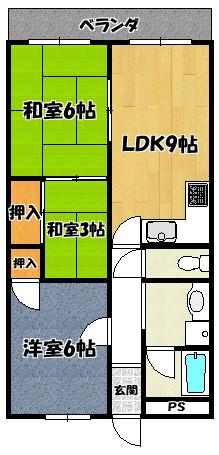 【太平パシフィック】間取図面