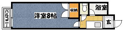 【コーポサン】間取図面