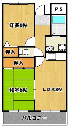 【エスポアールキンダ】間取図面