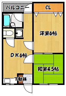 【石原マンション】間取図面