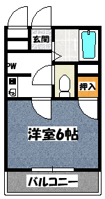 【OMTマンション】間取図面