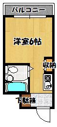【エムロード豊秀】間取図面