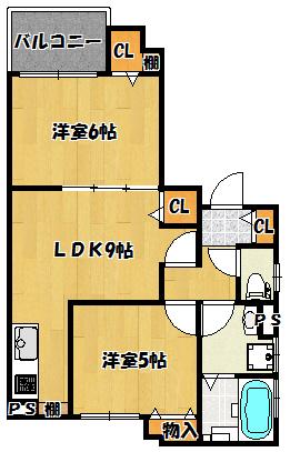 【クリエオーレ新橋町】間取図面